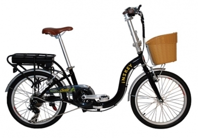 E-Smile - 20 inch 7 spd Electric Lady Bicycle